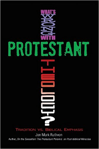 What is wrong with Protestant theology front