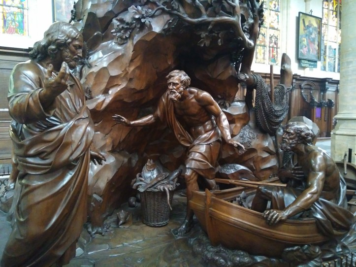 Preekstoel Sint-Andries Antwerpen